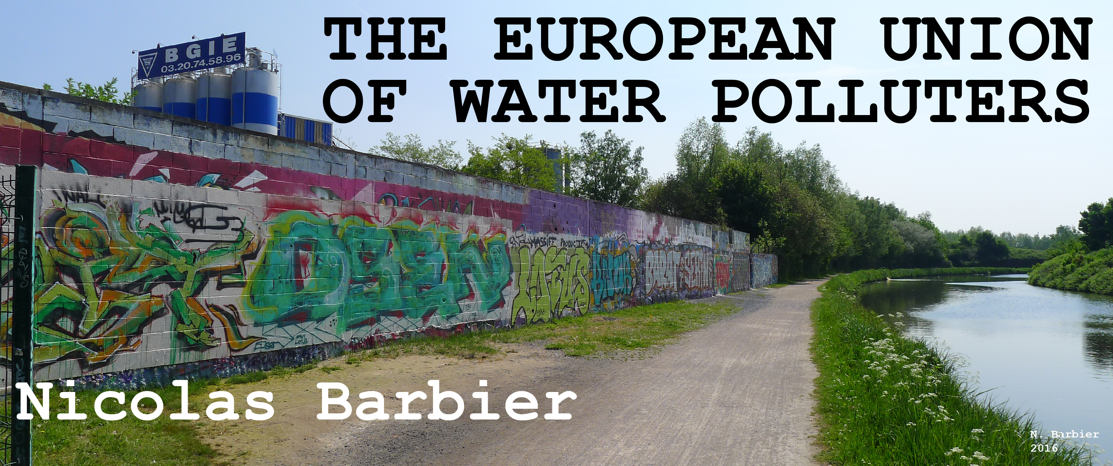 The European union of water polluters (11/2017) – IN ENGLISH
