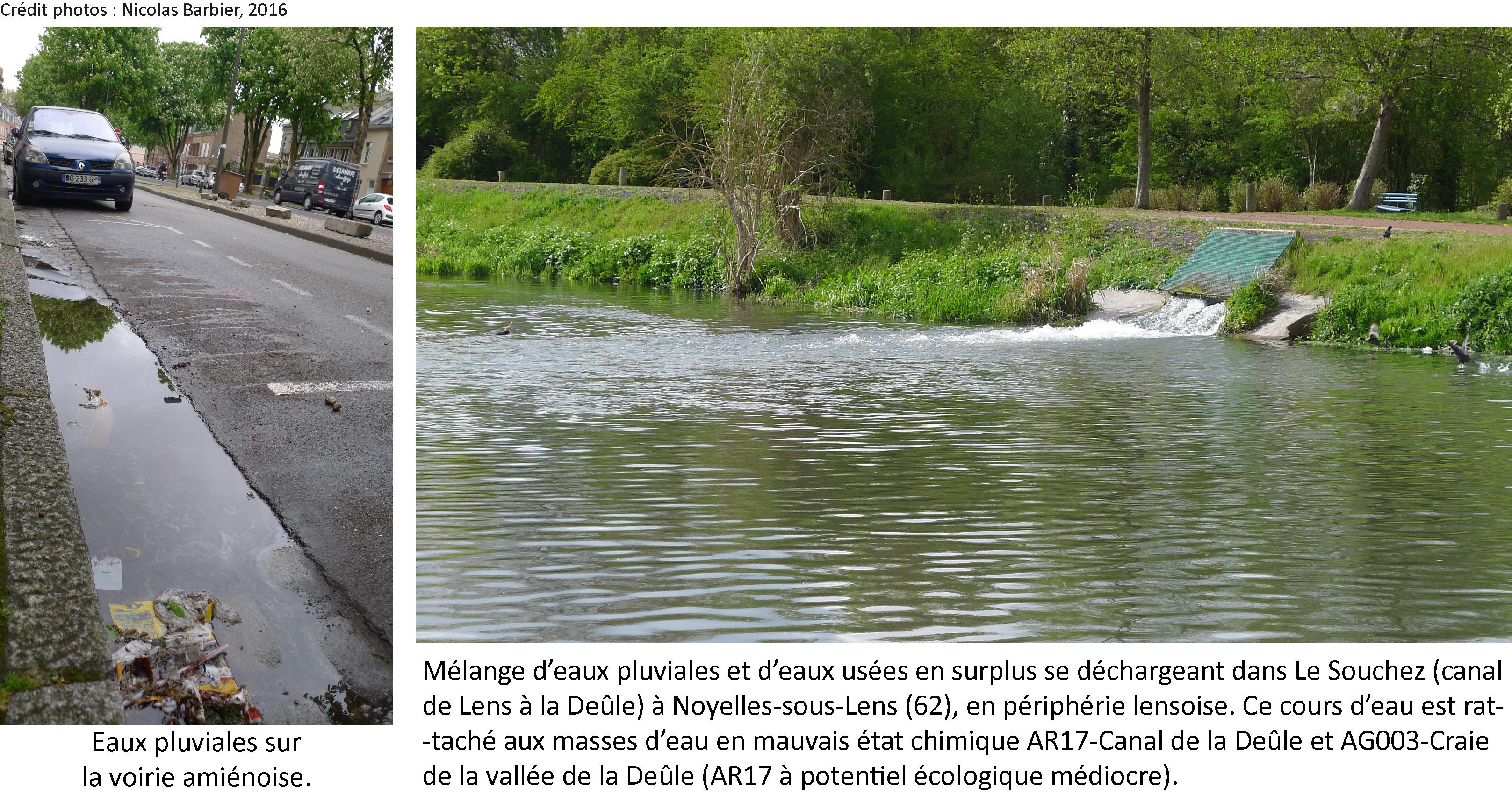 ventdouxprod nicolas barbier 2016 eaux pluviales amiens canal deûle pollution artois-picardie hauts-de-france DCE LEMA