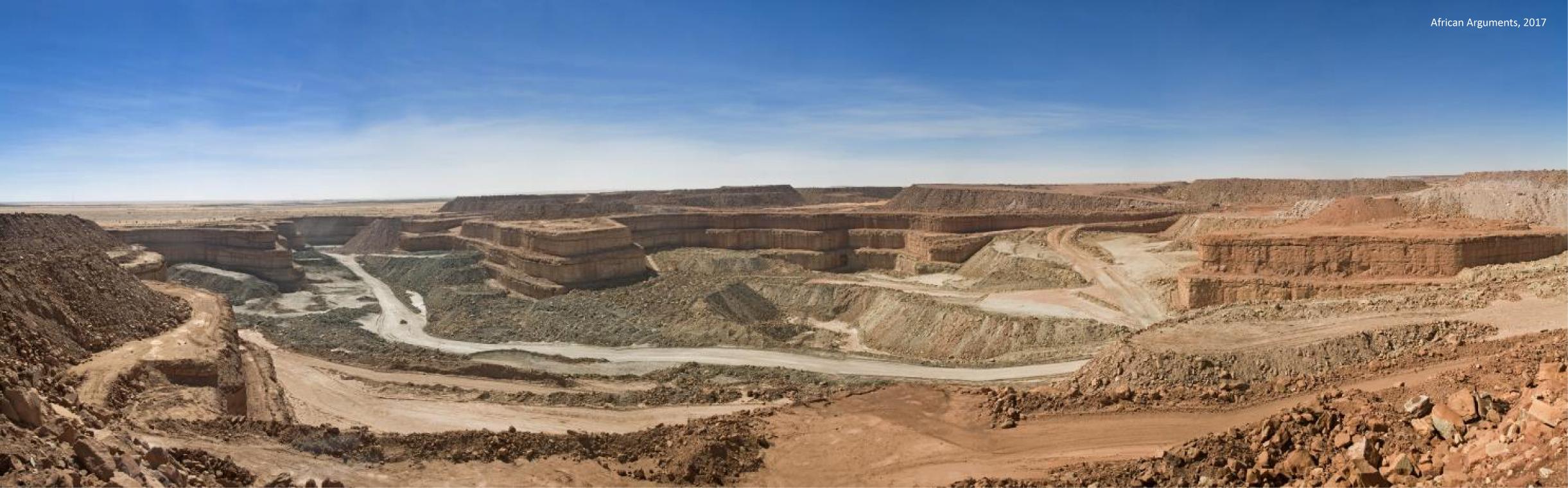 Orano runs this uranium mine (Somaïr) in Niger