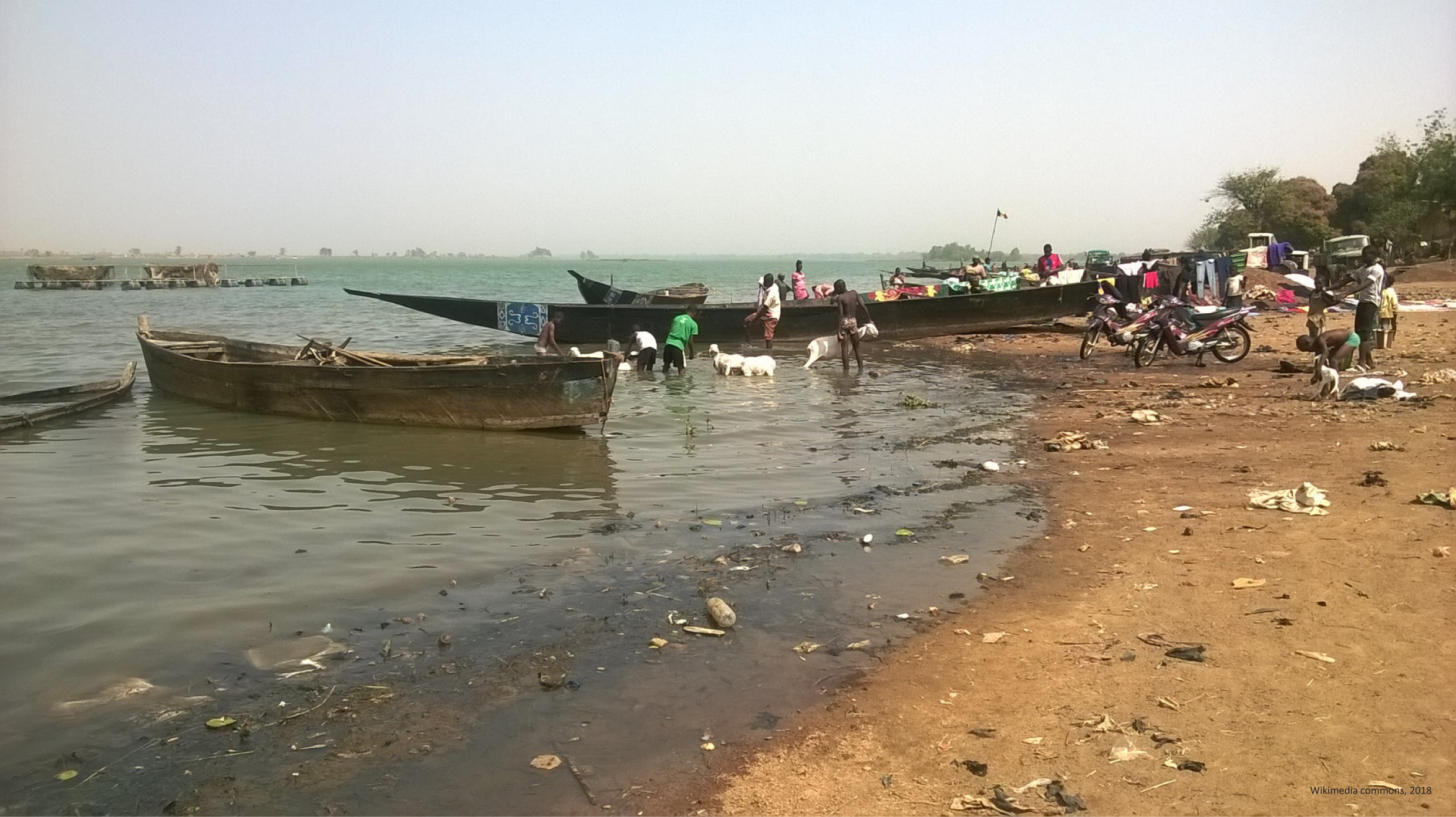 Some of the factors driving « economic » migrations: Water pollution in the Niger river basin.
