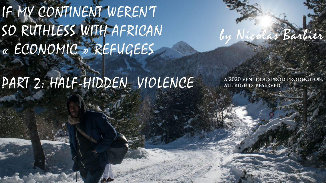 "ebook (EPub) of If my continent weren't so ruthless with African ""economic"" refugees – Part 2 (3/2020)"