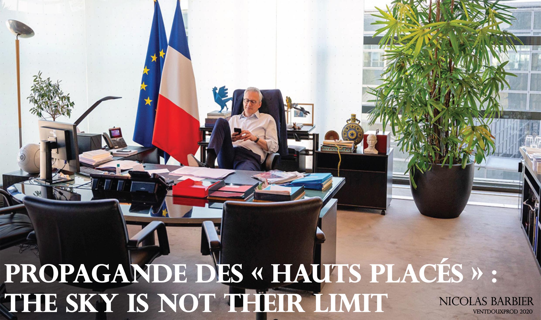 ventdouxprod nicolas barbier 2020 propagande des hauts placés air france bruno le maire gouvernement français malhonnête à propos des biocarburants