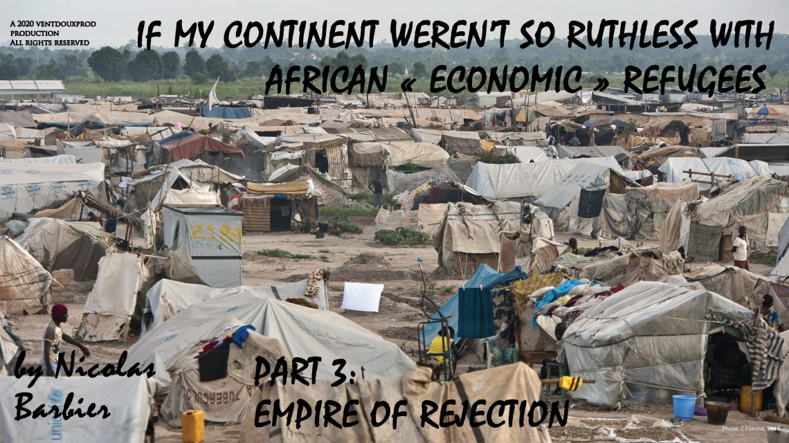 "<span itemprop=""name"">ebook (mobi) of If my continent weren't so ruthless with African ""economic"" refugees – Part 3 (9/2020)</span>"