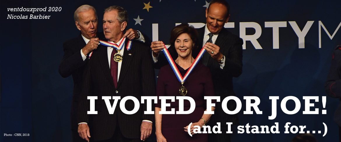 ventdouxprod 2020 nicolas barbier people who voted for joe biden stand for fracking on most us lands, nuclear energy, billionaires, a potentially even stronger military, polluting agriculture, etc.
