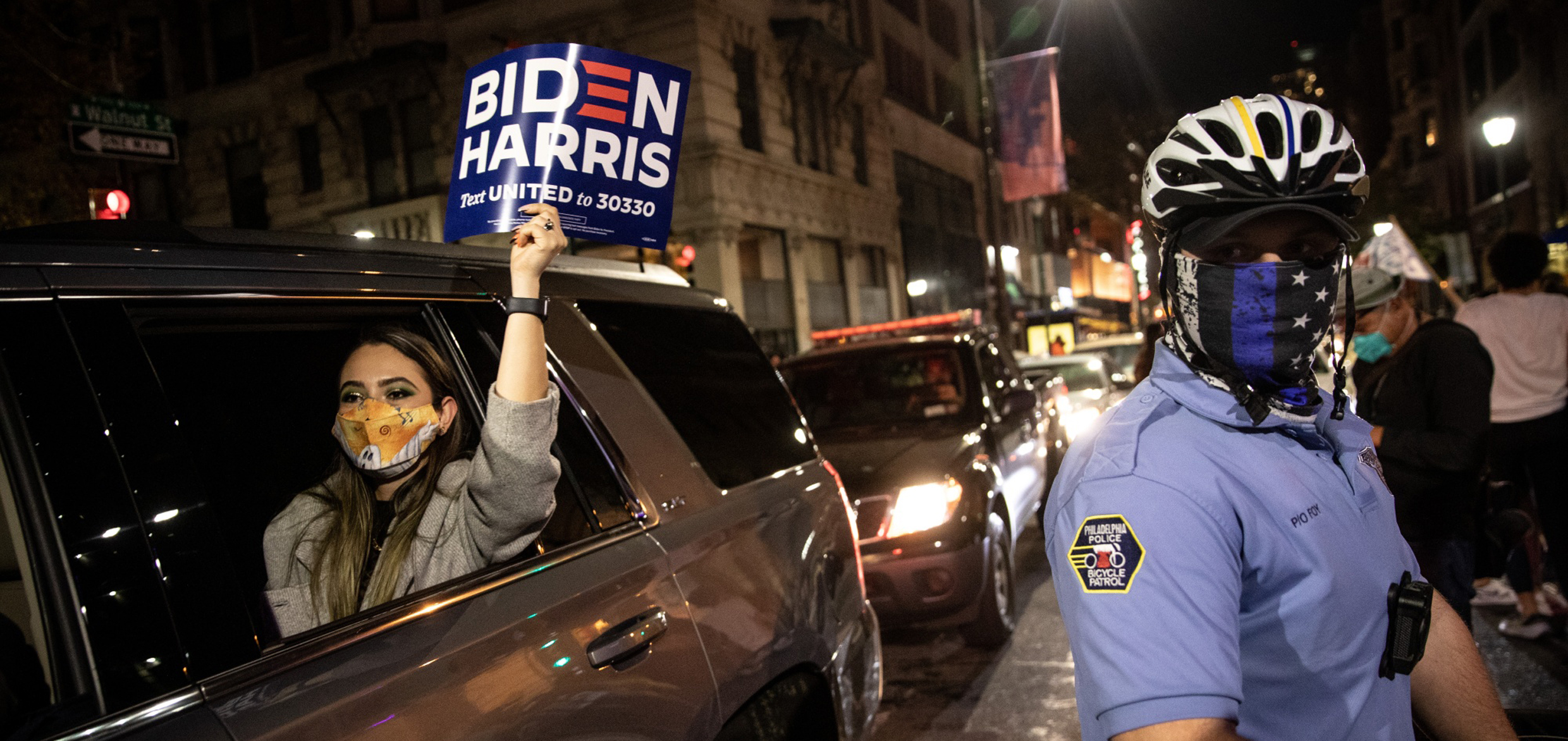 ventdouxprod 2020 nicolas barbier joe biden totally opposed to defunding the police, biden ignores black lives matter
