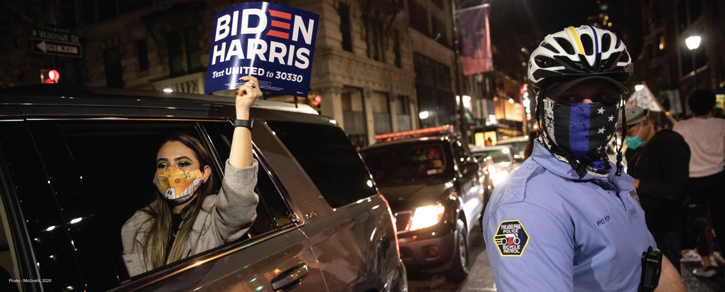 ventdouxprod 2020 Nicolas Barbier: Article on what people who voted for Joe Biden really stand for