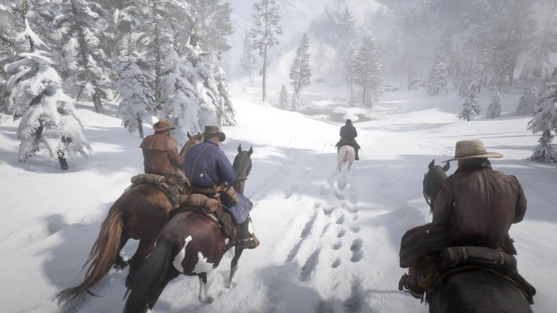 ventdouxprod 2021 Nicolas Barbier Le jeu vidéo à trente ans d'intervalle : another world (of art) ? Le début de Red Dead Redemption 2